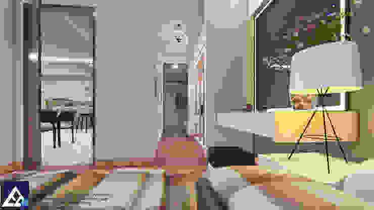 Thiết kế & Thi công Nội Thất Căn hộ – GoldView Quận 4 Phòng thay đồ phong cách hiện đại bởi Công ty ĐT-TV Thiết Kế & Xây Dựng ECO Hiện đại