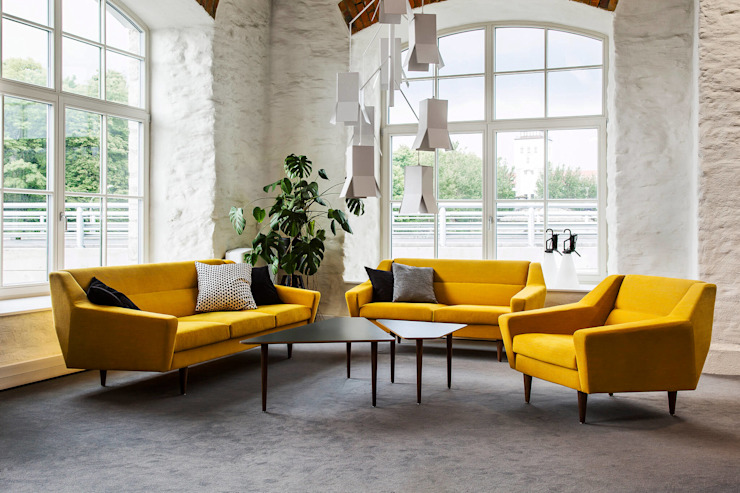 Baltic Design Shop Living room Wood Yellow