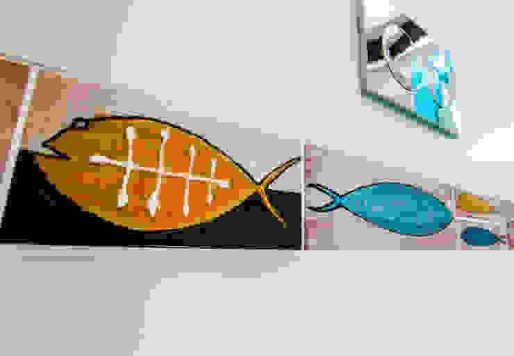 Barracuda, piastrelle bagno di ADIdesign* studio Tropicale Ceramica