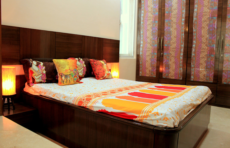 Residential Project—Palm Beach Residency, Navi Mumbai Modern style bedroom by Dezinebox Modern