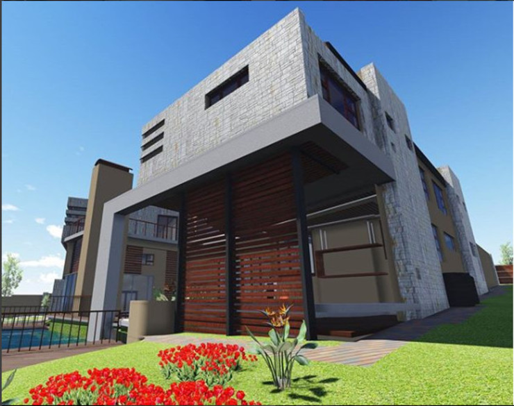 3D Drawing by TOP CENTRE PROPERTIES GROUP (PTY) LTD Modern