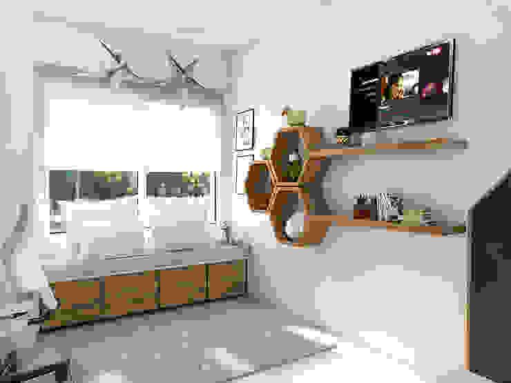 Scandinavian style nursery/kids room by Bhavana Scandinavian