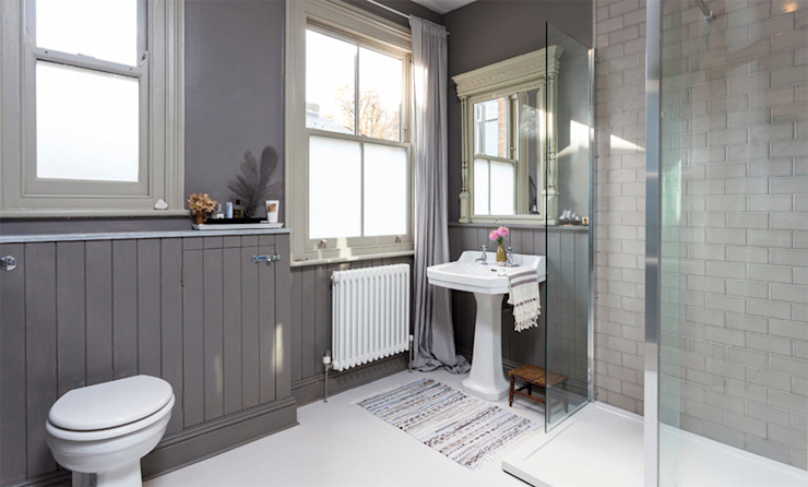 Dulwich Family home Imperfect Interiors Classic style bathroom
