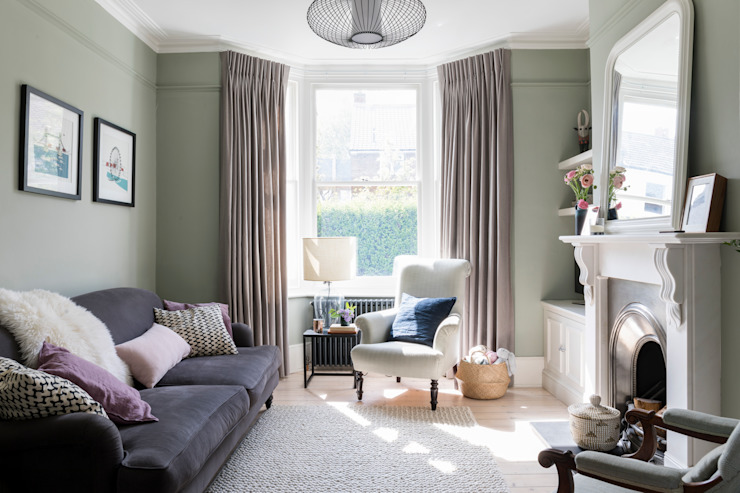 Blackheath Family Home Classic style living room by Imperfect Interiors Classic