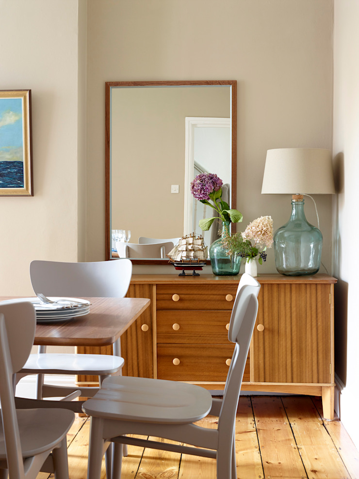 Southwold Coastal retreat Classic style dining room by Imperfect Interiors Classic