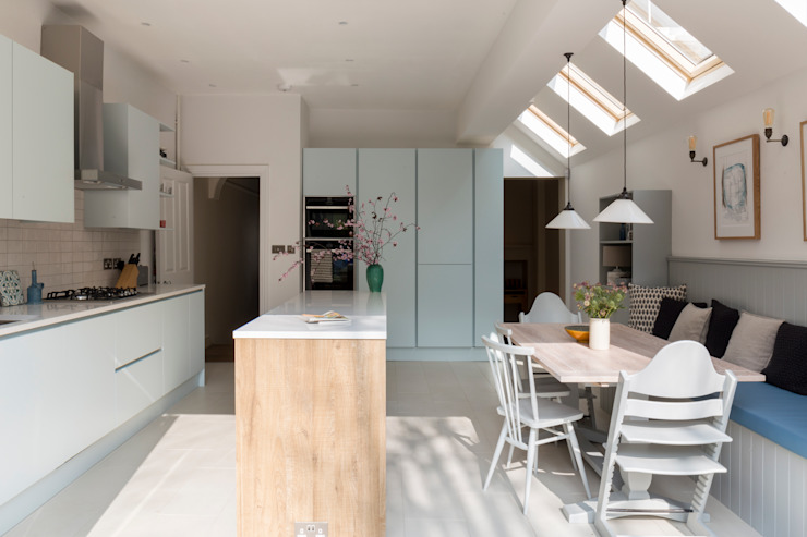 Dulwich Terraced House 根據 Imperfect Interiors 古典風