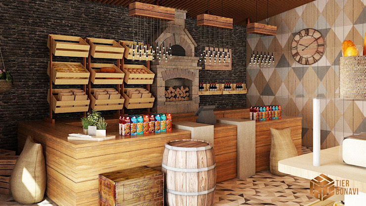Bakery (Concept) Gastronomi Modern Oleh Tierbonavi Modern