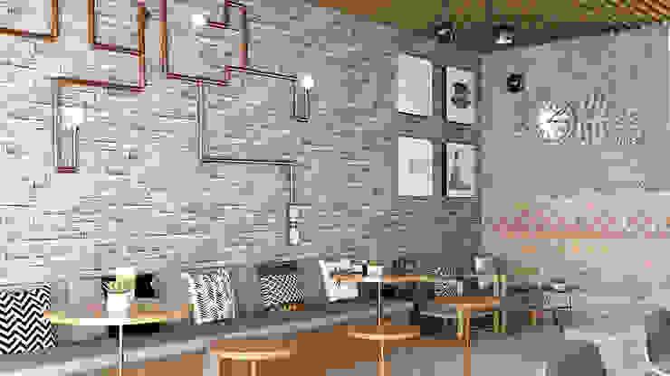 Coffee shop ( Concept) Gastronomi Modern Oleh Tierbonavi Modern