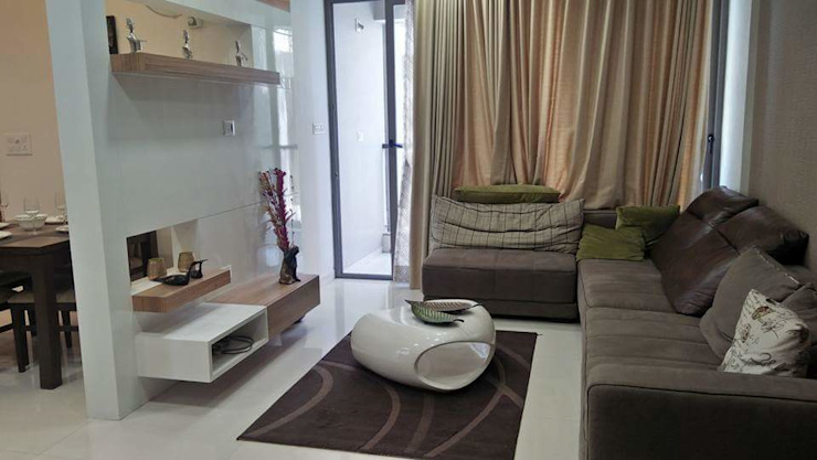 Project Modern living room by MADE AFTER DESIGN LLP Modern