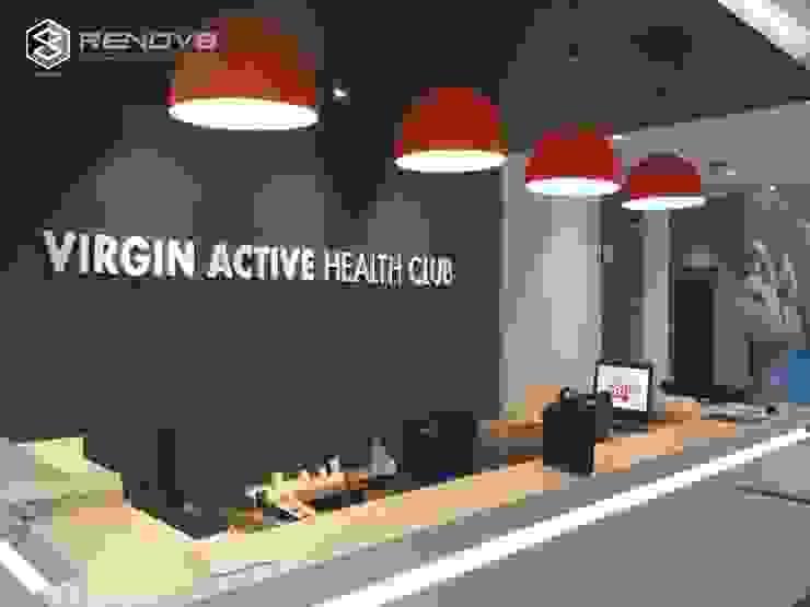 Virgin Active Shopfitting by Renov8 CONSTRUCTION Modern