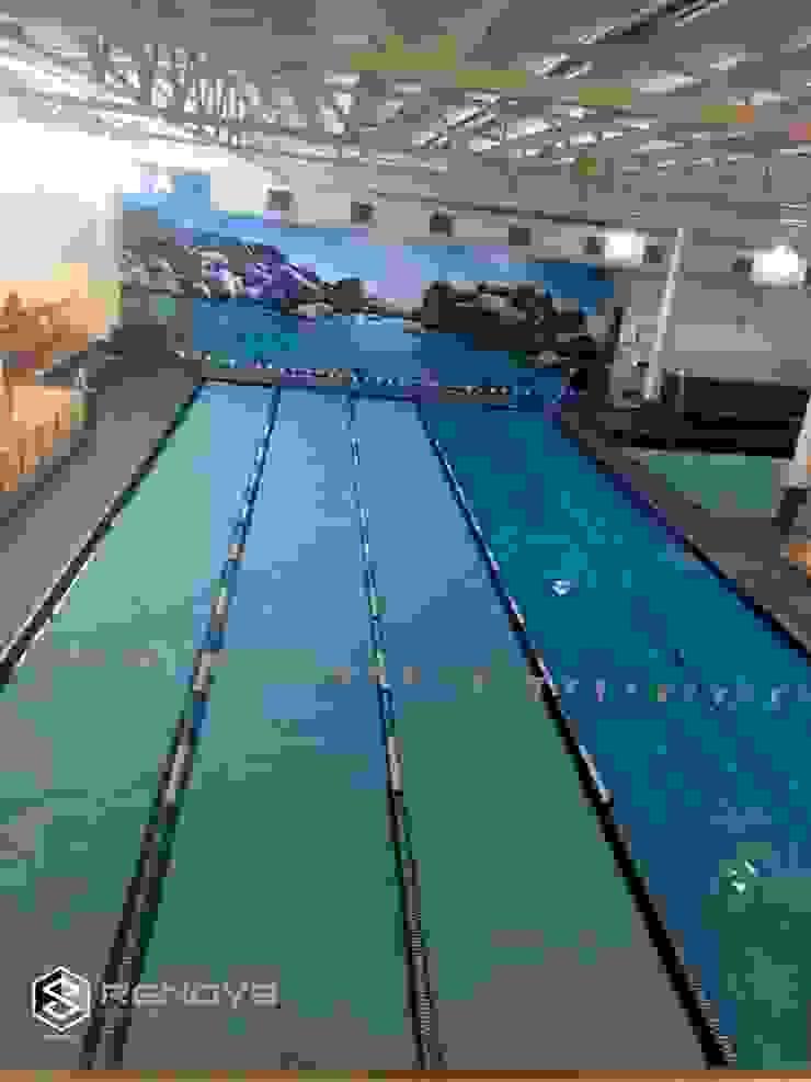 Virgin Active Constantia Swimming Pool by Renov8 CONSTRUCTION Modern