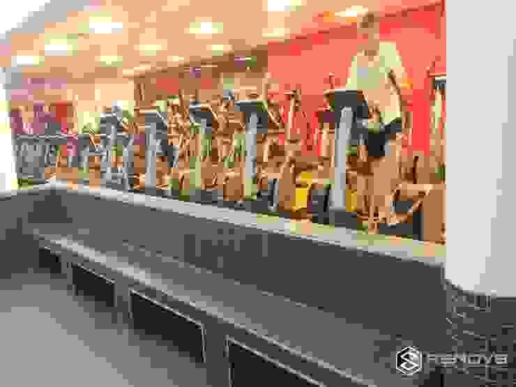 Virgin Active Constantia Swimming Pool Modern gym by Renov8 CONSTRUCTION Modern