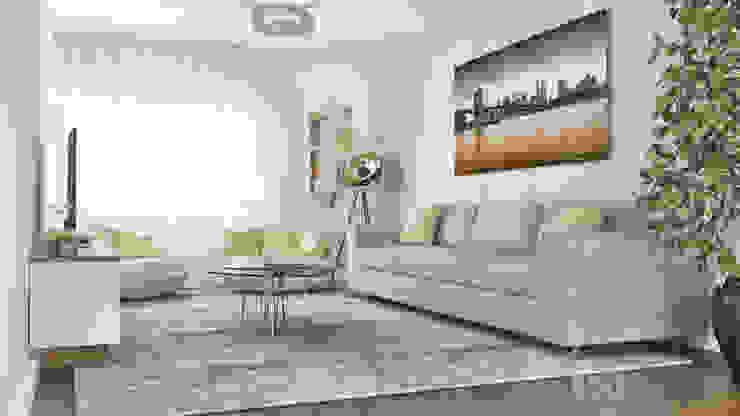 PROJETOS: Sala de Estar: Salas de estar  por MY STUDIO HOME - Design de Interiores,