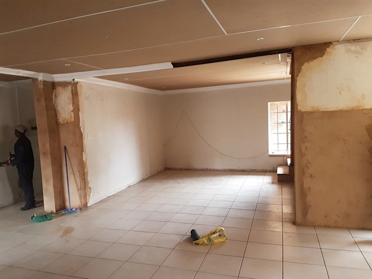 Home alteration in Zwartkop Centurion. by PTA Builders And Renovators