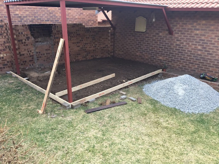 Braai area renovation in Rooihuiskraal by PTA Builders And Renovators