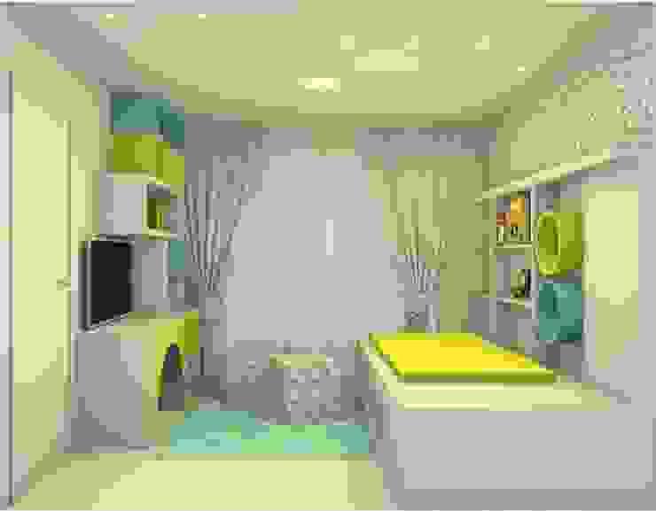 Quarto de Brinquedos Studio Elabora Quartos das meninas MDF Azul