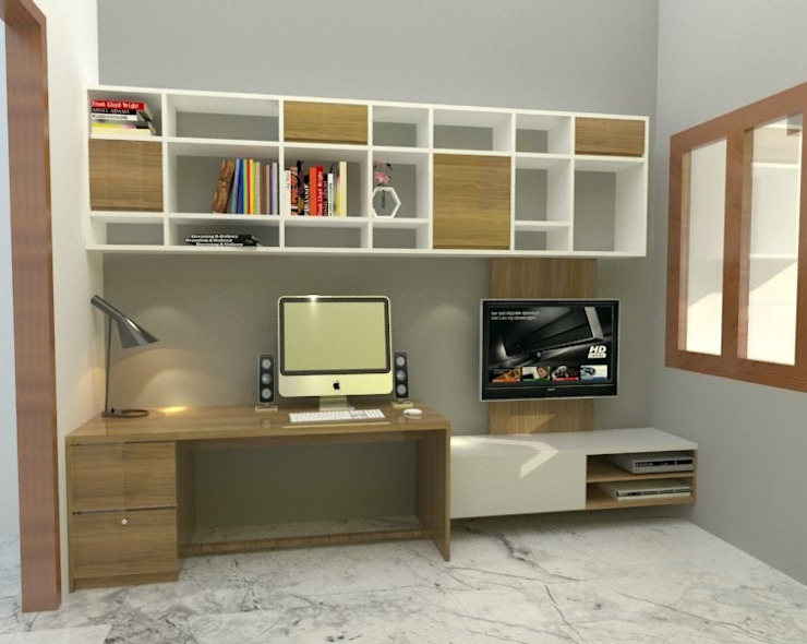 Interiors at Sector 43 | Gurgaon Classic style media room by Studio Square Design Co. Classic