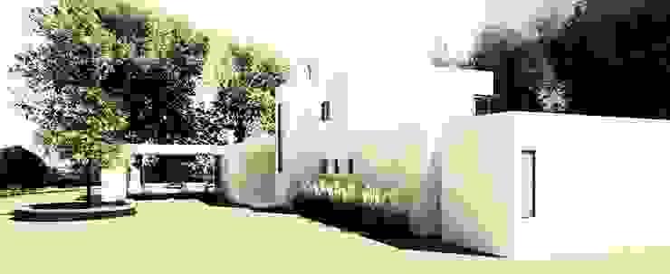 Fachada Principal Casas estilo moderno: ideas, arquitectura e imágenes de EnVoga Moderno