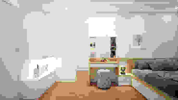Thiết kế và thi công nội thất căn hộ chung cư tại TPHCM liên hệ 0911.120.739: hiện đại  by TNHH xây dựng và thiết kế nội thất AN PHÚ CONs 0911.120.739, Hiện đại Da Grey