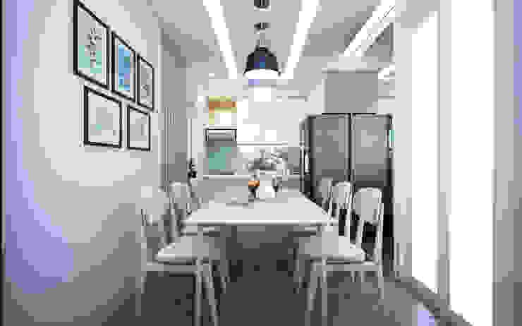 Thiết kế và thi công nội thất căn hộ chung cư tại TPHCM liên hệ 0911.120.739: hiện đại  by TNHH xây dựng và thiết kế nội thất AN PHÚ CONs 0911.120.739, Hiện đại Đồng / Đồng / Đồng thau