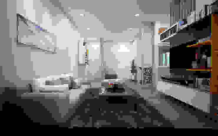 Thiết kế và thi công nội thất căn hộ chung cư tại TPHCM liên hệ 0911.120.739: hiện đại  by TNHH xây dựng và thiết kế nội thất AN PHÚ CONs 0911.120.739, Hiện đại Đồ gốm