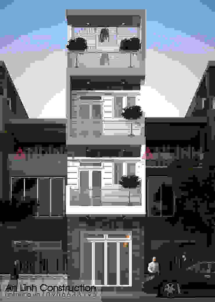 Mẫu nhà phố - TRẦN ÁNH TUYẾT bởi CÔNG TY THIẾT KẾ XÂY DỰNG AN LĨNH