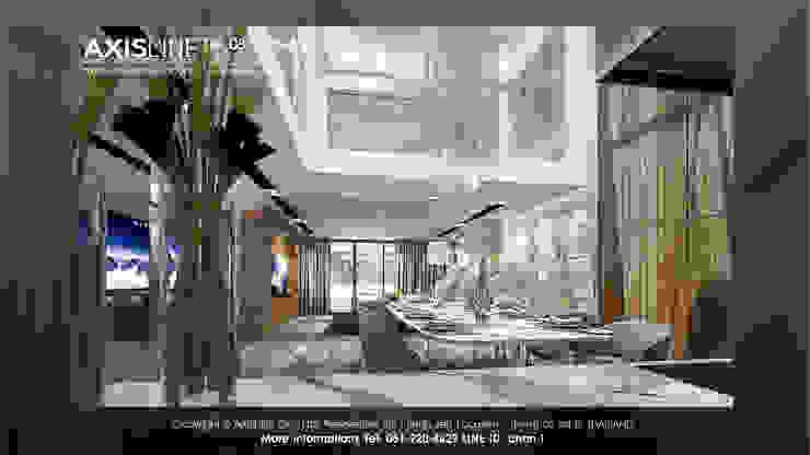 ออกแบบรีโนเวทบ้าน และออกแบบตกแต่งภายใน (บ้านคุณเสาวนีย์): ทันสมัย  โดย บริษัทแอคซิสลาย จำกัด, โมเดิร์น