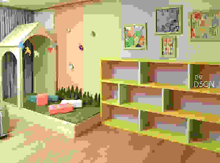 아이들만을 위한 아이들의 놀이 거실 에클레틱 아이방 by homify 에클레틱 (Eclectic)