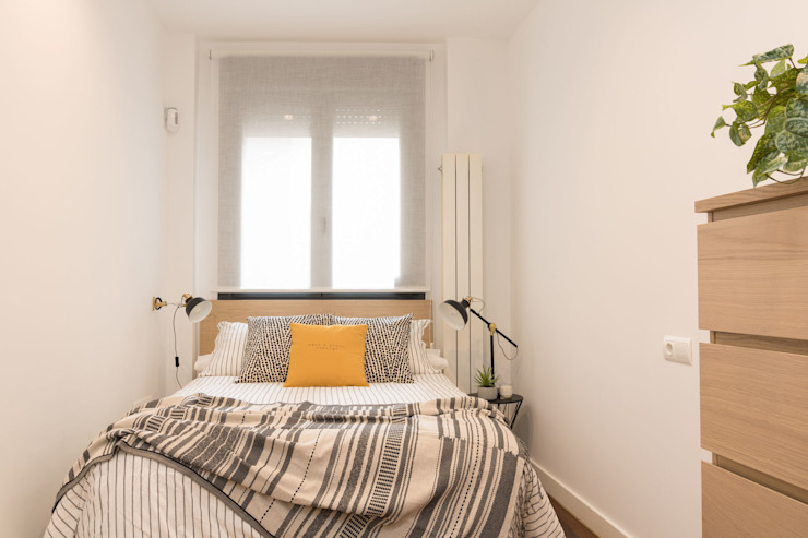 Become a Home Scandinavian style bedroom