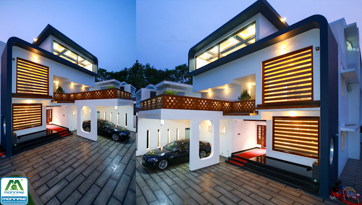 Ultra-Modern Designs Country style houses by Premdas Krishna Country