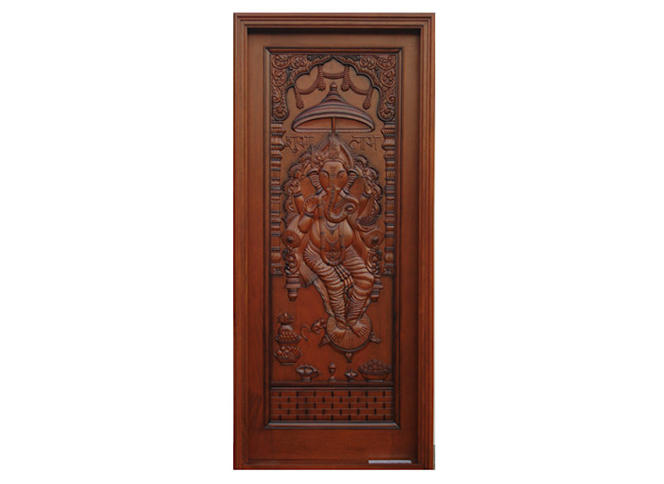 Solid Wood Doors D P Woodtech Pvt Ltd Asian style doors