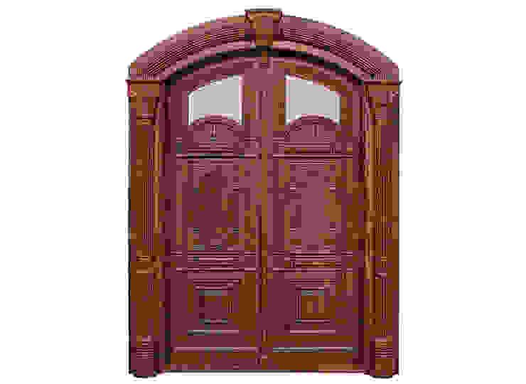 Solid Wood Doors Classic style doors by D P Woodtech Pvt Ltd Classic