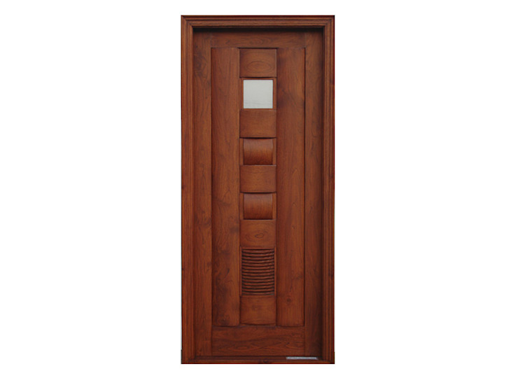 Solid Wood Doors Colonial style doors by D P Woodtech Pvt Ltd Colonial
