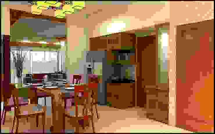 Fluence Modern kitchen by Archivite Architecture Modern