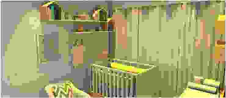 Cuarto del bebé de estilo  por Studio Elabora, Moderno Tablero DM