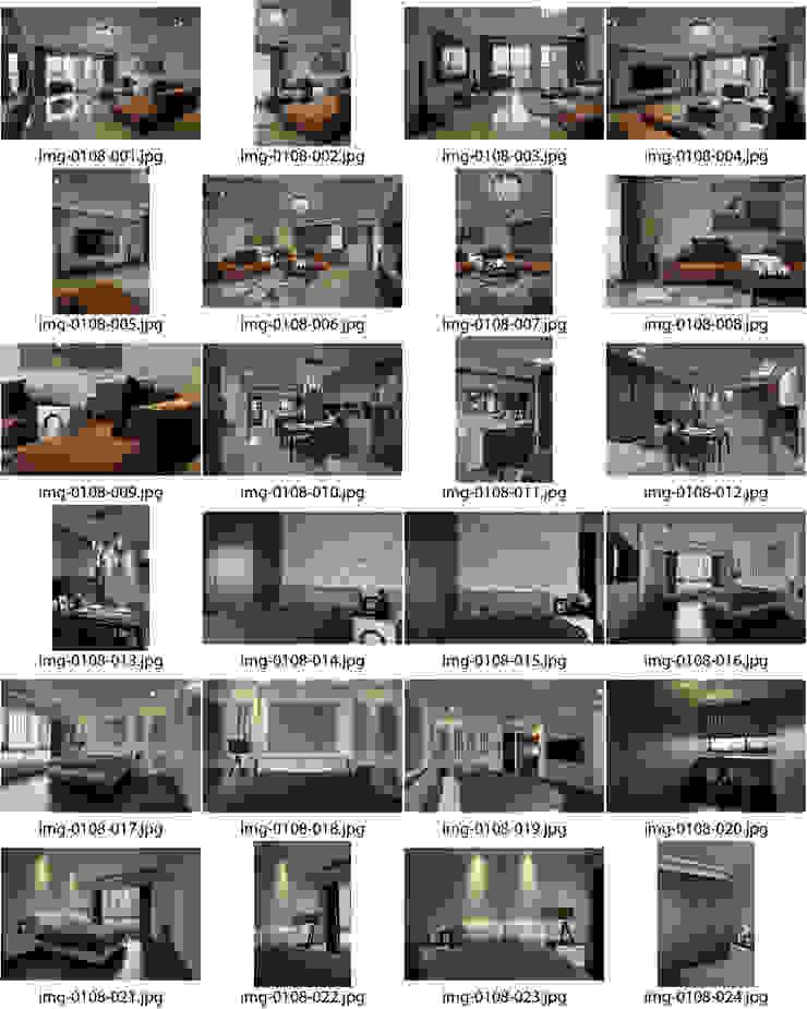 築采 新業大觀: 現代  by 台中室內設計-築采設計 , 現代風