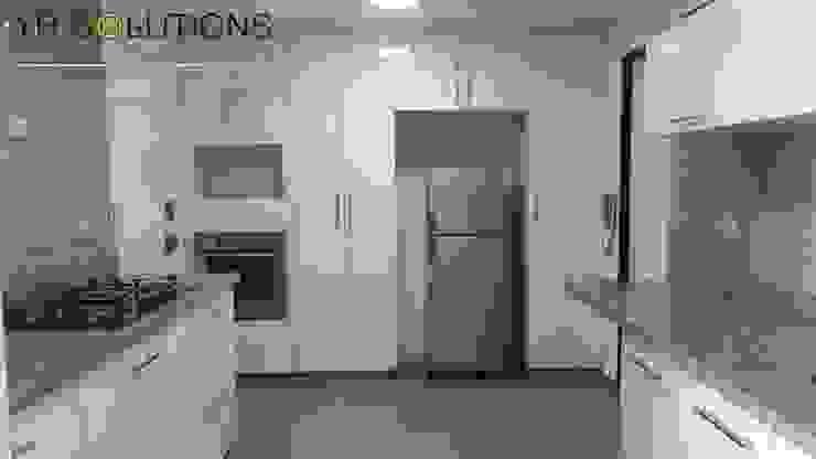 Remodelación Cocina Pardo Cocinas de estilo moderno de YR Solutions Moderno