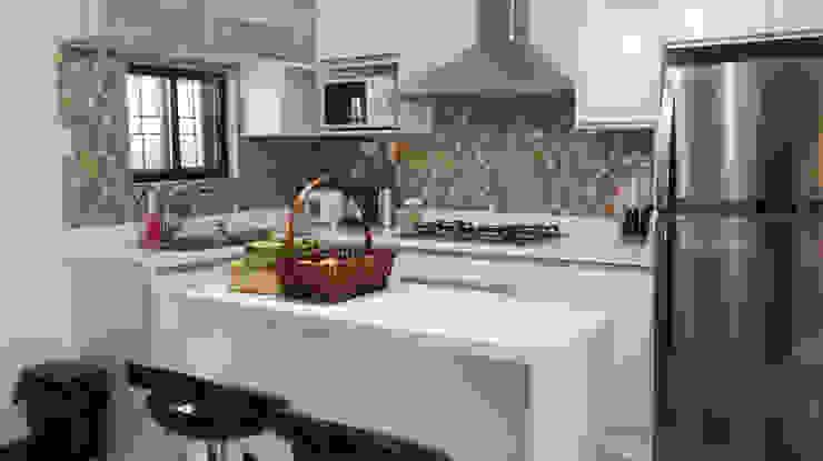 Diamond Dust Quartz Kitchen Countertop at La Vista Monte, Davao City by Stone Depot Modern