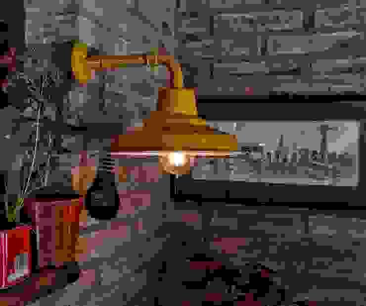 Lamparas Vintage Vieja Eddie Living roomLighting Iron/Steel Amber/Gold