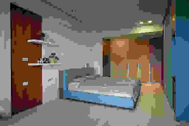 modern  door 台中室內設計-築采設計 , Modern