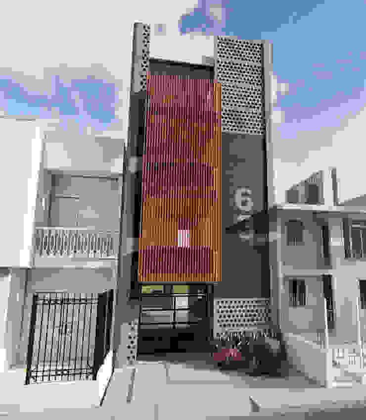 Casa k63 de Mimesis Arquitectura y diseño Moderno Concreto