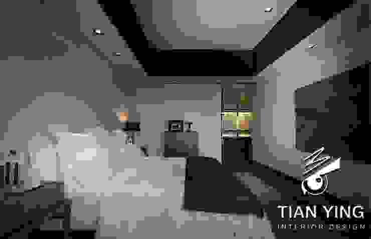 Moderne slaapkamers van 天英設計工程 Modern