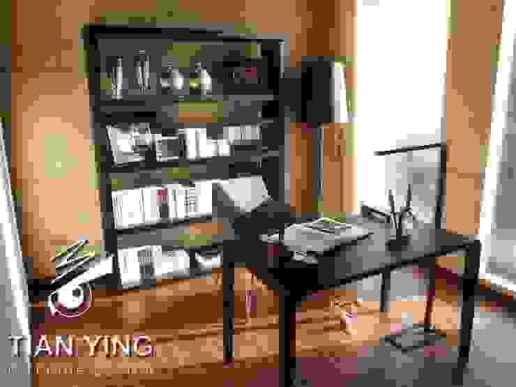 住宅空間設計-公共領域/書房 天英設計工程 Modern Study Room and Home Office