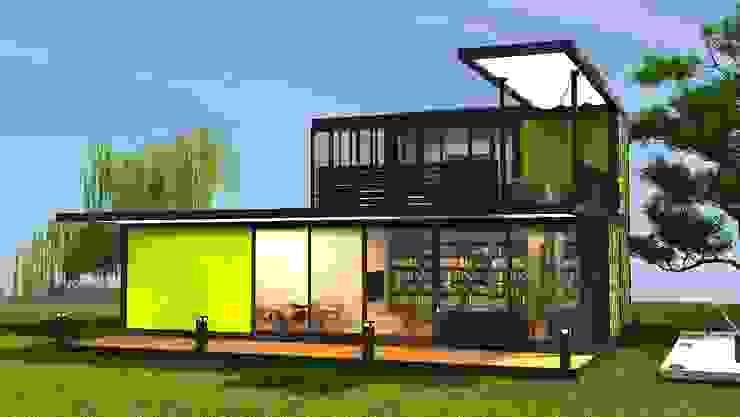 Next Container - Modena Style homify Prefabrik ev