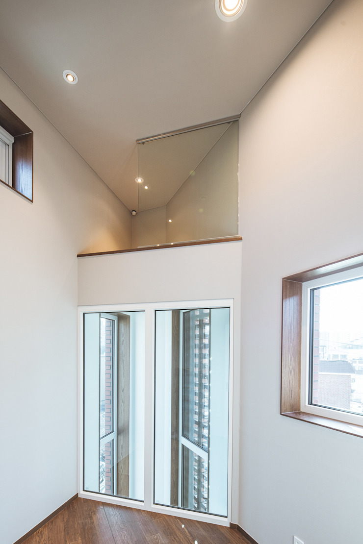 온기 모던스타일 미디어 룸 by AAPA건축사사무소 모던