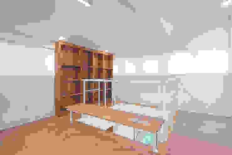 BLANK FACTORY 모던스타일 서재 / 사무실 by AAPA건축사사무소 모던