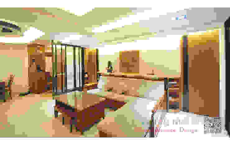 客廳 造型天花板 现代客厅設計點子、靈感 & 圖片 根據 艾莉森 空間設計 現代風