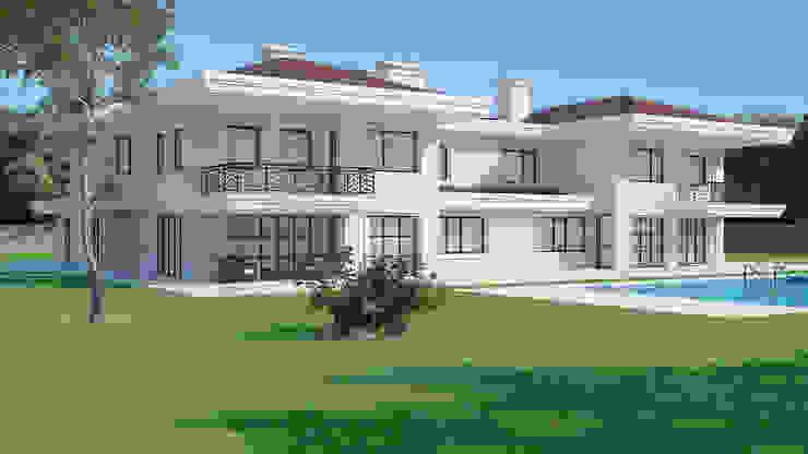 Villa Modern Evler Dündar Design - Mimari Görselleştirme Modern