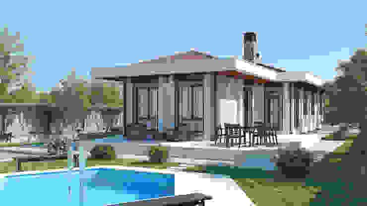 Будинки by Dündar Design - Mimari Görselleştirme, Сучасний