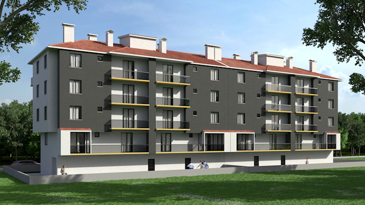Apartman Dündar Design - Mimari Görselleştirme Modern